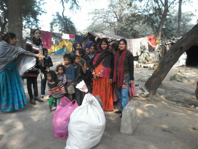 Cloth distribution