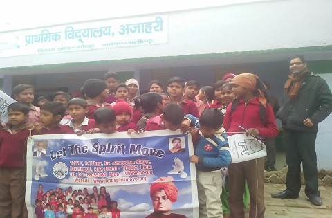 Counselling , importance of education workshop, distributed stationary items at govt. school Ajahari District Aligarh UP