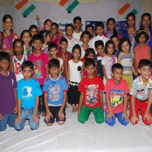 Children paricipated at Dwaring Compitition