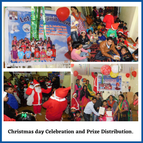 Christmas day celebration by Let the spirit Move