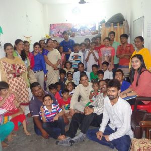 Directore of UPF Ngo visited our NGO and spend time with our children