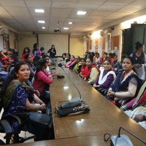 Let the spirit Move Ladies participation awarness program at Prayas NGO on Posco