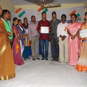 Local MLA of AAP Mr. Ajay Dutt as ch