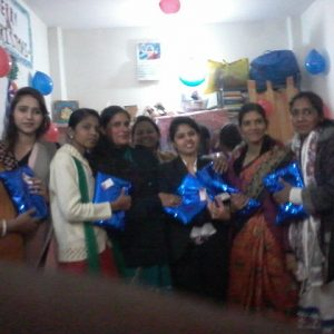 Teachers Day Celebration and gift given to teacher