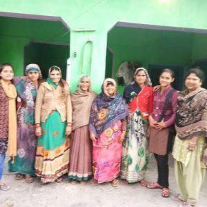 Women team from Ajahri Village