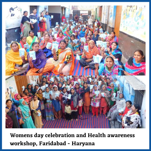 Womens day celebration and health awareness by Let the spirit Move
