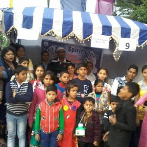 childten participated in NGO mela and stall was put to raise fund
